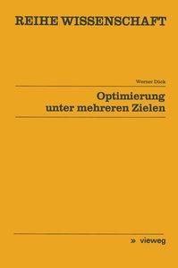 Optimierung unter mehreren Zielen