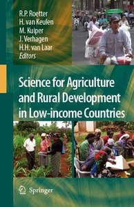 Science for Agriculture and Rural Development in Low-income Coun