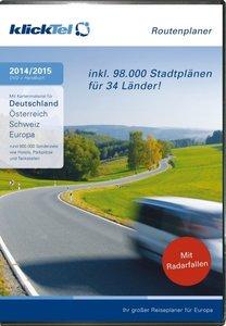 klickTel Routenplaner 2014/2015. Für Windows XP/Vista/7/8