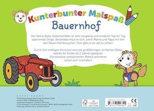 Bobo Siebenschläfer: Kunterbunter Malspaß Bauernhof
