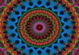 Mandala Impressionen (Posterbuch DIN A3 quer)