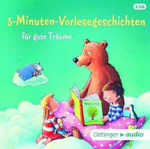 3-Minuten-Vorlesegeschichten für gute Träume (2 CD)