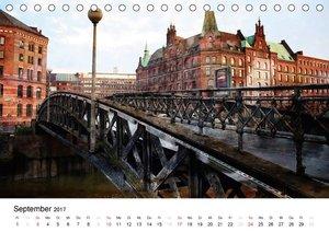 Silberstein porträtiert Hamburg (Tischkalender 2017 DIN A5 quer)
