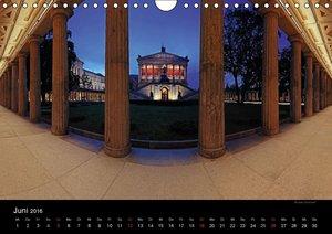 Berlin zur blauen Stunde (Wandkalender 2016 DIN A4 quer)
