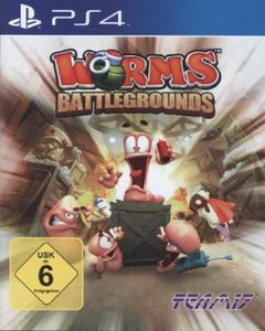 Worms Battlegrounds. Playstation PS4