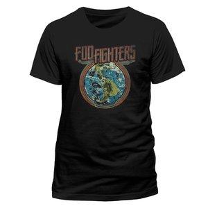 Earth (T-Shirt,Schwarz,Größe M)