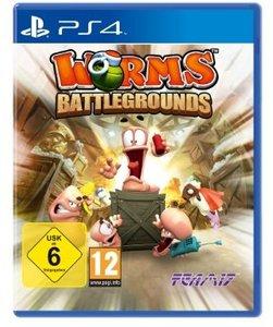 Worms Battlegrounds. Playstation PS4