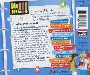 Die drei !!! 23: Undercover im Netz (Ausrufezeichen)