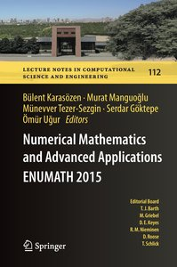 Numerical Mathematics and Advanced Applications - ENUMATH 2015