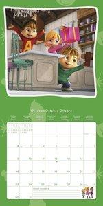 Alvinnn!!! und die Chipmunks 2017 Broschürenkalender