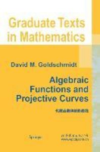 Algebraic Functions and Projective Curves