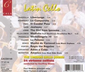 Latin Cello The London Cello Sound