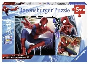 Spider-Man, der Superheld. Puzzle 3 X 49 Teile