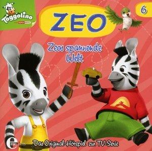 (6)Original HSP z.TV-Serie-Zeos Spannende Welt