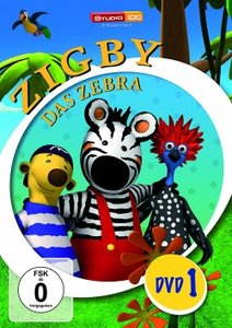 Zigby,das Zebra DVD 1
