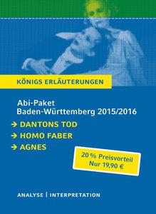 Abitur Baden-Württemberg 2016 & 2017 - Königs Erläuterungen Pake