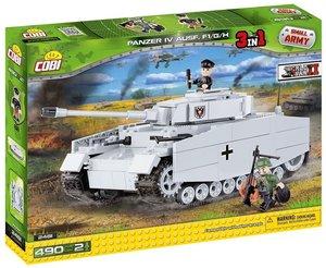 COBI 2481 - Panzer IV Ausführung F1/G/H, Small Army, grau