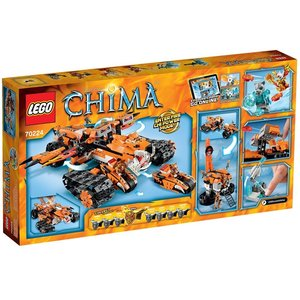 Lego 70224 - Legends of Chima: Mobile Kommandozentrale der Tiger