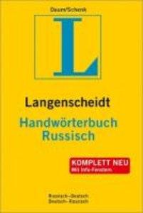 Langenscheidt Handwörterbuch Russisch