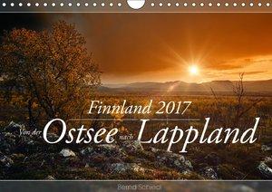 Finnland - Von der Ostsee nach Lappland (Wandkalender 2017 DIN A