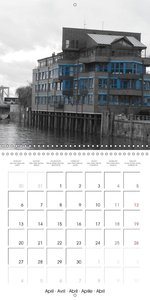 Historic warehouse district of Hamburg (Wall Calendar 2015 300 ×