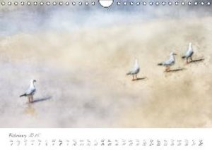 Painterly Beach (Wall Calendar 2015 DIN A4 Landscape)