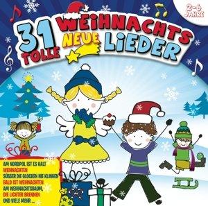 31 neue tolle Weihnachtslieder