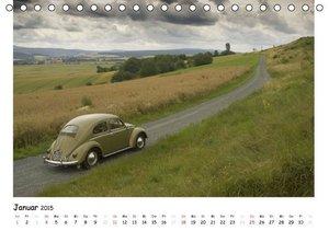 Bau, S: VW Käfer - Das Original (Tischkalender 2015 DIN A5 q