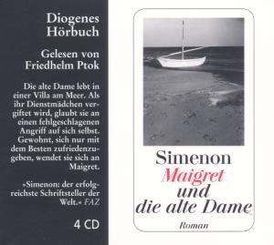 Maigret und die alte Dame. 4 CDs