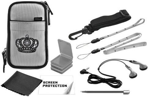 Nintendo DSi - Princess Pack -silver- - zum Schließen ins Bild klicken