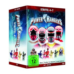 Power Rangers-Staffel 4-7 (21 DVDs)