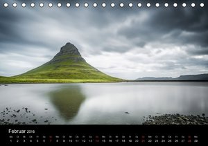 Island Impressionen von Armin Fuchs (Tischkalender 2016 DIN A5 q
