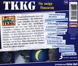 TKKG 184. Die ewige Finsternis