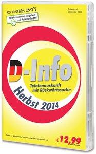 D-Info Herbst 2014 - Telefonauskunft mit Rückwärtssuche