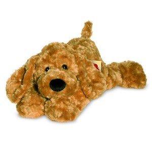 Teddy Hermann 92793 - Schlenkerhund gold, 40 cm