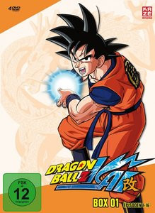 Dragonball Z Kai - DVD Box 1 (4 DVDs)