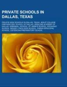 Private schools in Dallas, Texas