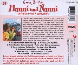 Hanni und Nanni 37 gefährden eine Freundschaft