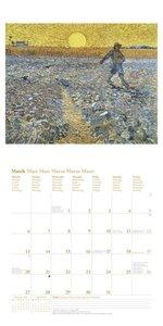 Vincent van Gogh 2017. Broschürenkalender