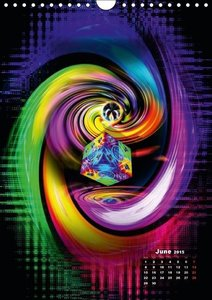 Rainbow Creations (Wall Calendar 2015 DIN A4 Portrait)
