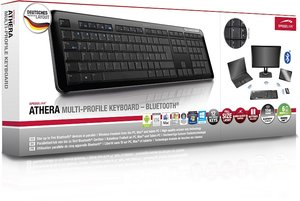 Speedlink SL-7438-BK ATHERA Multi-Profile Keyboard - Bluetooth,