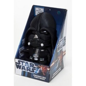 Joy Toy 100227 - Darth Vader, sprechender Plüsch, 23 cm in Displ