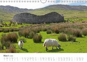 Ireland - landscape and culture / UK-Version (Wall Calendar 2015