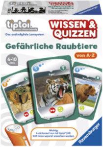 Ravensburger 00752 - tiptoi® Wissen & Quizzen: Gefährliche Raubt