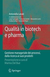Qualità in biotech e pharma