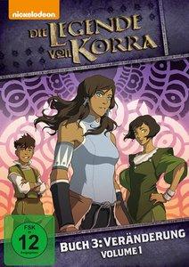 Die Legende von Korra, Buch 3: Veränderung - Vol. 1
