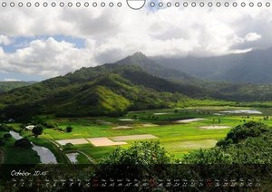 Mountains of Hawaii - UK Version (Wall Calendar 2015 DIN A4 Land