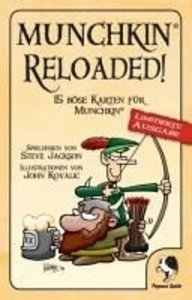 Pegasus Spiele 17162G - Munchkin: Reloaded
