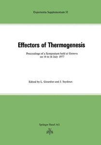 Effectors of Thermogenesis