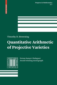 Quantitative Arithmetic of Projective Varieties